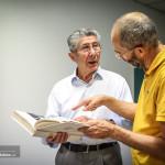 Pietro Santini e Gino Cervi (in maglia gialla)